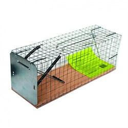 Живоловка ловушка, металлическая клетка (шт.) - фото 7458