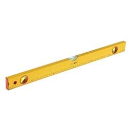 """Уровень алюминиевый """"Yellow"""", 3 ампулы, 60 см (Hobbi) (шт.) - фото 9653"""