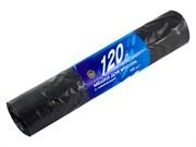 Мешки для мусора с завязками, 120 литров, прочные, 10шт (Very) (уп.)