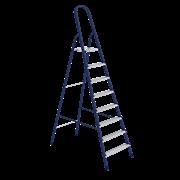 Стремянка стальная, 8 ступеней (Hardax) (шт.)