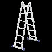 """Лестница """"Трансформер"""", 4 секции, 3 ступени"""