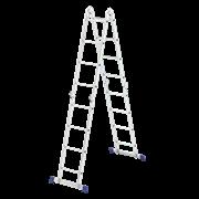 """Лестница """"Трансформер"""", 4 секции, 4 ступени"""