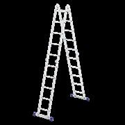 """Лестница """"Трансформер"""", 4 секции, 5 ступеней"""