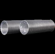 Воздуховод гибкий (10BA) алюминиевый гофрированный, L до 3м