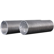 Воздуховод гибкий (12.5BA) алюминиевый гофрированный, L до 3м
