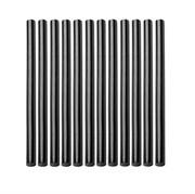 Стержни клеевые, чёрные, 11x200 мм, 12 штук (уп.)