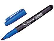Маркер перманентный, пулевидный, наконечник 3,0 мм, цвет синий (шт.)