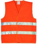 Жилет сигнальный оранжевый, размер XL  (шт.)