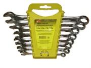 Набор ключей гаечных комбинированных, углеродистая сталь, 8 предметов (Hobbi) (уп.)
