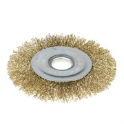 Щетка-крацовка для УШМ, дисковая, 125 мм, посадочный диаметр 22,2 мм (Hobbi) (шт.)