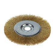 Щетка-крацовка для УШМ, дисковая, 175 мм, посадочный диаметр 22,2 мм (Hobbi) (шт.)