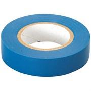 Лента клейкая, изоляционная, ПВХ,  синяя, ширина 15 мм (Hobbi) (шт.)