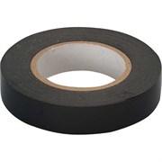 Лента клейкая, изоляционная, ПВХ, черная, 19 мм х 20 м (Hobbi) (шт.)