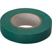 Лента клейкая, изоляционная, ПВХ, зеленая, 19 мм х 20 м (Hobbi) (шт.)