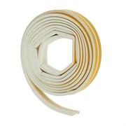 Уплотнитель для окон Р-профиль (резиновый) на клейкой основе белый 10м   (шт.)