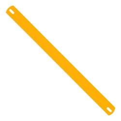 Полотно ножовочное двухстороннее 300 мм, 24/8 TPI, 12 шт - фото 18012