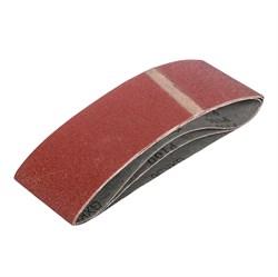 Лента абразивная на тканевой основе Р100, 75 х 457 мм, 3 шт. (Hardaх) (уп.) - фото 18791