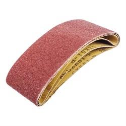 Лента абразивная на тканевой основе Р40, 75 х 457 мм, 3 шт. (Hardaх) (уп.) - фото 18794