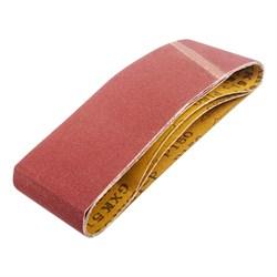 Лента абразивная на тканевой основе Р150, 75 х 457 мм, 3 шт. (Hardaх) (уп.) - фото 18805