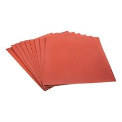 Шлифовальная шкурка на бумажной основе, Р100, лист 220 х 270 мм, 10шт. (Hobbi) (уп.) - фото 20365