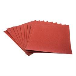 Шлифовальная шкурка на бумажной основе, Р120, лист 220 х 270 мм, 10шт. (Hobbi) (уп.) - фото 20371
