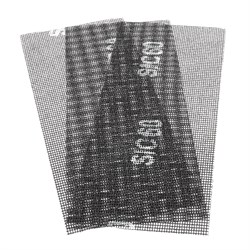 Сетка абразивная Р60, 105 х 280 мм, 3шт. (Hardax) (уп.) - фото 20449