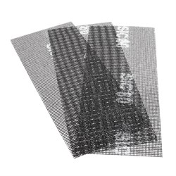 Сетка абразивная Р80, 105 х 280 мм, 3шт. (Hardax) (уп.) - фото 20452