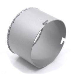 Кольцевая коронка по керамической плитке с карбидным напылением, 103мм (Hardax) (шт.) - фото 20560