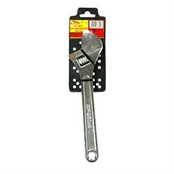 Ключ разводной, углеродистая сталь, 250 мм (Hobbi) (шт.) - фото 21710