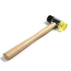 Молоток для рихтовки, пластик / резина,  диаметр 35 мм (Hobbi) (шт.) - фото 21746