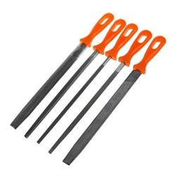 Набор напильников по металлу, 5 предметов - фото 21917