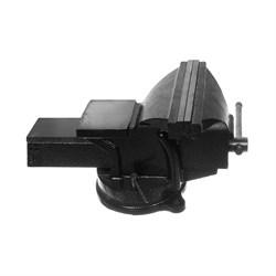 Тиски слесарные, поворотные, с наковальней , 125 мм (Hobbi) (шт.) - фото 22136