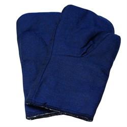 Рукавицы утепленные на ватине, крашенная ткань (шт.) - фото 22571