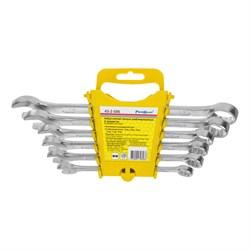 Набор ключей гаечных комбинированных, углеродистая сталь, 6 предметов (Hobbi) (уп.) - фото 22919