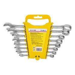 Набор ключей гаечных комбинированных, углеродистая сталь, 8 предметов (Hobbi) (уп.) - фото 22921