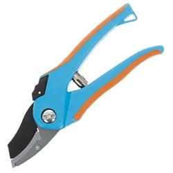 Секатор высокоуглеродистая сталь, с наковальней, пластиковые ручки, 205мм, (шт.) - фото 26915