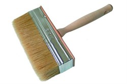 Кисть макловица, натуральная щетина, деревянная рукоятка, 30 х 70 мм (шт.) - фото 4603