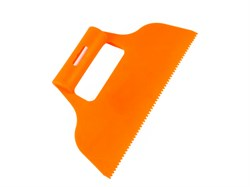 Шпатель для клея, пластмассовый, зуб 4 х 4 мм (шт.) - фото 5041