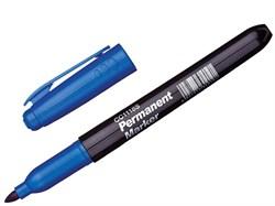 Маркер перманентный, пулевидный, наконечник 3,0 мм, цвет синий (шт.) - фото 5143
