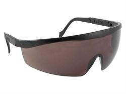 Очки защитные, поликарбонат, с непрозрачными дужками, затемненные (шт) - фото 5727