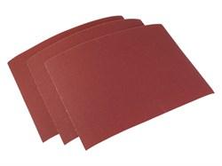 Шлифовальная шкурка на тканевой основе №25, лист 240 х 170 мм 10шт. (уп.) - фото 6106