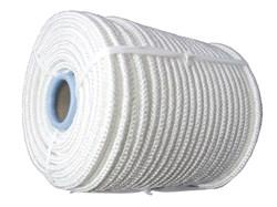 Фал плетеный капроновый, D10мм, L 100м, 24-прядный, 1300кгс, с сердечником - фото 6473