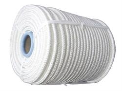 Фал плетеный капроновый, D12мм, L 100м, 24-прядный, 2200кгс, с сердечником - фото 6475