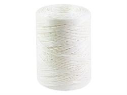 Шпагат полипропиленовый, белый 1000 текс, 500 м - фото 6482