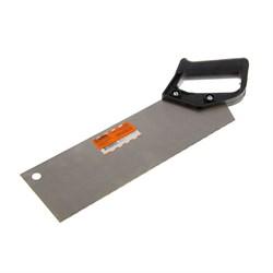 Ножовка фанеропильная 300 мм,  шаг зуба 2 мм, пластиковая ручка - фото 7904