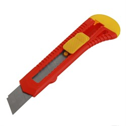 Нож пистолетный, автоблокировка, 18 мм (Hobbi) (шт.) - фото 9760