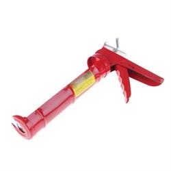 """Пистолет для герметиков, полукорпусный 9"""", зубчатый шток (Hobbi) (шт.) - фото 9934"""