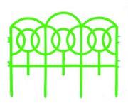 Декоративный забор, 7 секций, длина 3 м (шт.)
