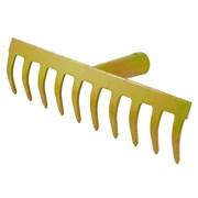 Грабли, прямой зуб, 10 зубов (шт.)
