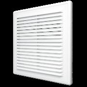 Решетка вентиляционная (A1515R) разъемная наклон. жалюзи 150х150 мм